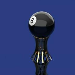 7.jpg Download STL file 8 Ball Box • 3D printer object, ManuC