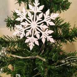 WhatsApp Image 2020-11-04 at 1.01.57 PM.jpeg Télécharger fichier STL paquet de décorations des flocons de neige de Noël • Objet pour impression 3D, jonk_industrial