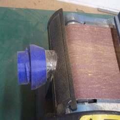 P1070886.JPG Télécharger fichier SCAD gratuit Clark CS6-9C Revêtement de courroie - Raccord du système d'extraction de poussière rLab • Plan pour imprimante 3D, Steve_rLab