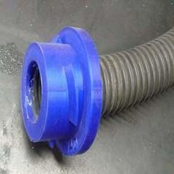 P1070899.JPG Télécharger fichier SCAD gratuit Adaptateur de tuyau de 32 mm de diamètre intérieur - Raccord pour système d'extraction de poussière rLab • Plan pour impression 3D, Steve_rLab