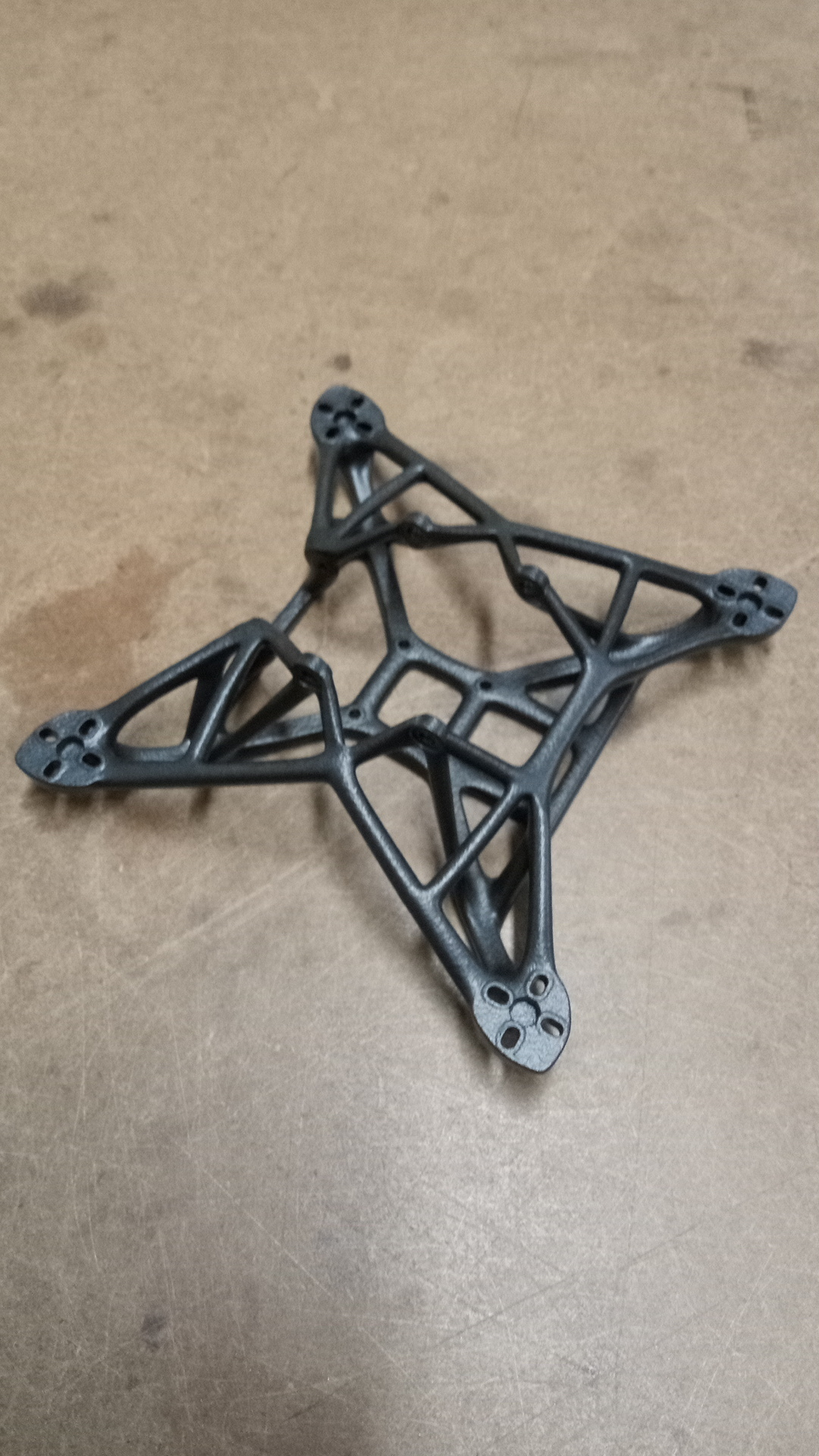 Download free STL file Bionic frame 140mm • 3D print template, BoristheSpider