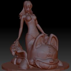clair.PNG Download STL file Gleipnir - clair aoki • 3D print template, triunef