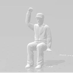Snapshot_10.png Download STL file Man Seated Man Seated • 3D print model, moviemasterdvd