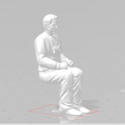 Snapshot_25.png Download STL file Man sitting 2 Arms together man seated Diorama • Model to 3D print, moviemasterdvd