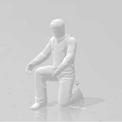 snapshot90 (2).png Download STL file Workshop Mechanic Crouched Working • Object to 3D print, moviemasterdvd