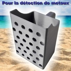 Photo 1.jpg Download STL file Excavator - Extractor - Metal Detection Sandpaper Scoop • Object to 3D print, RoM1