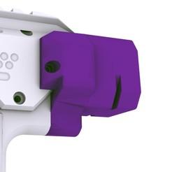 Stock Render 01.jpg Download STL file Gryphon Nerf Stock Point • 3D printing template, Fancy_Impact_Blasters