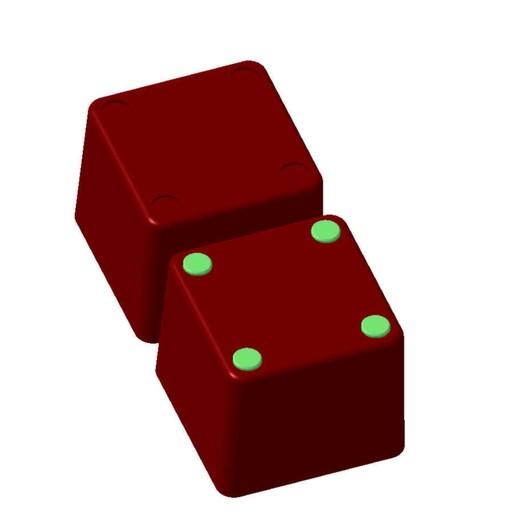 Bild_2.jpg Download STL file Allit Europlus organizer boxes • 3D printable model, baracuda86