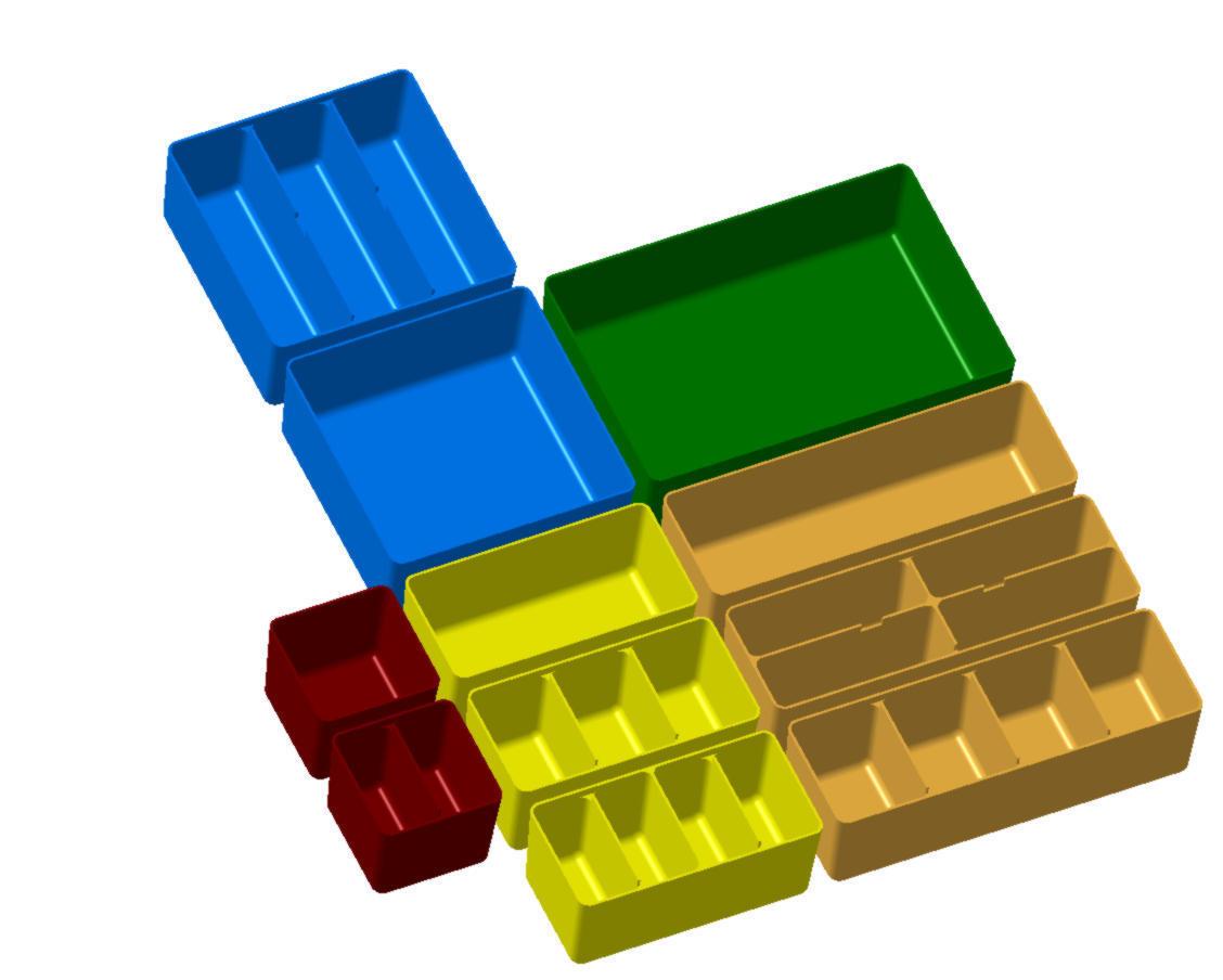 Bild_1.jpg Download STL file Allit Europlus organizer boxes • 3D printable model, baracuda86