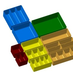 Bild_1.jpg Télécharger fichier STL Boîtes d'organisation Allit Europlus • Objet pour impression 3D, baracuda86