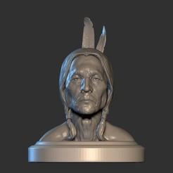 10ZBrush ScreenGrab01.jpg Télécharger fichier 3MF Amérindien • Modèle à imprimer en 3D, Willo