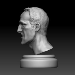 16 ZBrush Document.jpg Télécharger fichier STL Modèle de Michael Schumacher Zbrush • Plan pour imprimante 3D, Willo