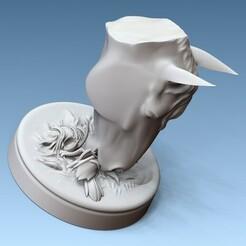 1.jpg Download 3MF file Horse Head • 3D print object, Willo