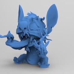 Stich_Venom.1.jpg Download free STL file Stitch_Venom • 3D print object, kybaeric