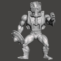 01_ST.jpg Download STL file STINKOR MOTU VINTAGE ACTION FIGURE (COMPLETE) • 3D printable model, VintageToysMG