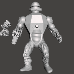 01_ROBOTO.png Download STL file ROBOTO MOTU VINTAGE ACTION FIGURE (COMPLETE) • 3D printable object, VintageToysMG