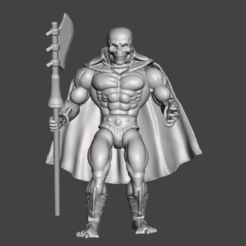 01_SCAREGLOW.png Download STL file SCARE GLOW MOTU ORIGINS ACTION FIGURE (COMPLETE) • 3D printable template, VintageToysMG