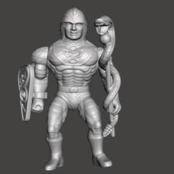 01_KS.png Download STL file KING HISS MOTU VINTAGE ACTION FIGURE (COMPLETE) • Design to 3D print, VintageToysMG