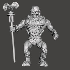 01_SL.jpg Download STL file SKELETOR LASER LIGHT MOTU VINTAGE ACTION FIGURE (COMPLETE) • 3D printer model, VintageToysMG