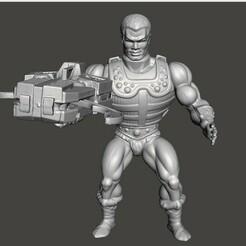 01_CC.jpg Download STL file CLAMP CHAMP MOTU VINTAGE ACTION FIGURE (COMPLETE) • 3D printing design, VintageToysMG
