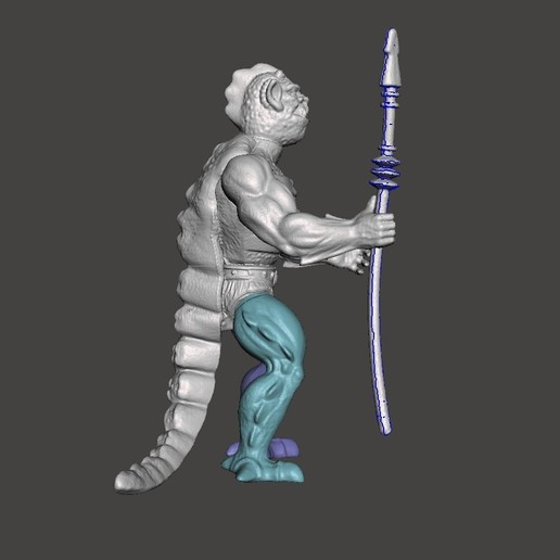 04_whiplash.jpg Download STL file WISPLASH MOTU ACTION FIGURE VINTAGE (COMPLETE) • 3D printable design, VintageToysMG