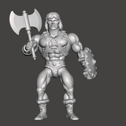 01_HE,AM_ORI.jpg Download STL file HE-MAN MOTU ACTION FIGURE ORIGINS (COMPLETE) • 3D printable design, VintageToysMG