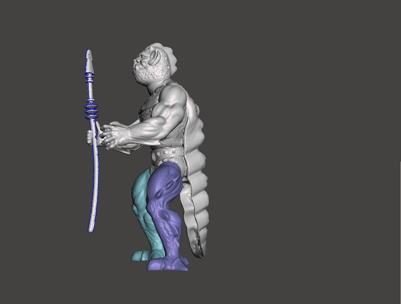 02_whiplash.jpg Download STL file WISPLASH MOTU ACTION FIGURE VINTAGE (COMPLETE) • 3D printable design, VintageToysMG