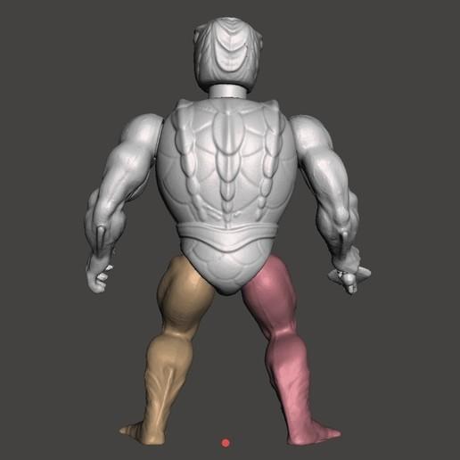 04_KOBRA_KHAN.jpg Télécharger fichier STL KOBRA KHAN MOTU ACTION FIGURE VINTAGE (COMPLET) • Plan pour imprimante 3D, VintageToysMG