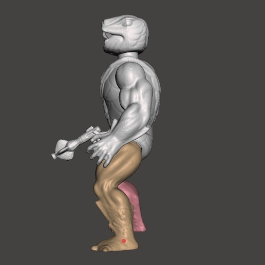 05_KOBRA_KHAN.jpg Télécharger fichier STL KOBRA KHAN MOTU ACTION FIGURE VINTAGE (COMPLET) • Plan pour imprimante 3D, VintageToysMG