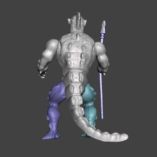 03_whiplash.jpg Download STL file WISPLASH MOTU ACTION FIGURE VINTAGE (COMPLETE) • 3D printable design, VintageToysMG