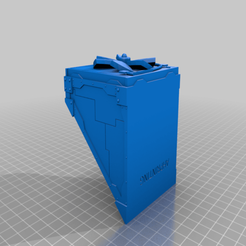 Outbuilding_Bulkhead_S.png Download free STL file Necromunda / 40k Outbuilding • Model to 3D print, Hami9209
