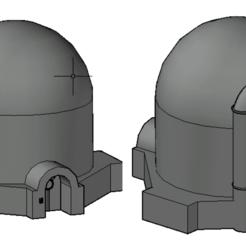 Screenshot 2020-10-31 at 15.25.14.png Download STL file Star Wars Tatoonie Storage Silo • 3D printable object, Hami9209