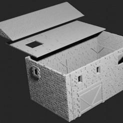 BARN copy.jpg Télécharger fichier STL Barn • Modèle à imprimer en 3D, Hami9209