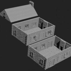Farmhouse.jpeg Télécharger fichier STL Ferme • Objet à imprimer en 3D, Hami9209