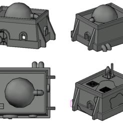 Screenshot 2020-10-30 at 16.25.24.png Download STL file Star Wars Tatoonie building • 3D print model, Hami9209