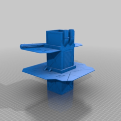b70c4d8be47a357598dff9a9af1c0905.png Download free STL file Necromunda Building • 3D printing model, Hami9209
