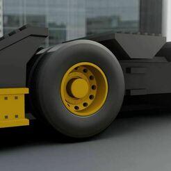 Capturar.JPG Download STL file Wheels for oversize Trailer 1/20 1/18 1/32 1/64 1/72 • Model to 3D print, Pixel3D