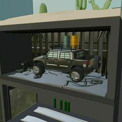 ee.JPG Télécharger fichier STL Boîte modulaire Hot Wheels (AFFICHAGE DES GAZONS) • Objet pour imprimante 3D, Pixel3D