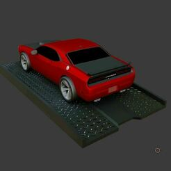 01.JPG Download free STL file Car Ramp miniature • 3D printer object, Pixel3D