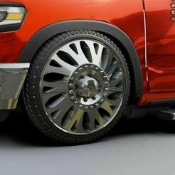 123.JPG Download STL file Wheel for Custom Truck • 3D print model, Pixel3D
