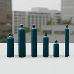 s.JPG Download STL file Cylinders PACK! • 3D printable template, Pixel3D