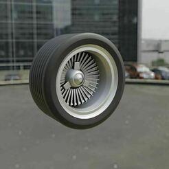 09.JPG Télécharger fichier STL gratuit Hot Wheels Roue métallique • Plan pour impression 3D, Pixel3D