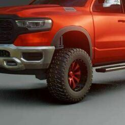 12x20 pneu 345 50 20.JPG Download STL file Wheels for Custom trucks! • 3D print object, Pixel3D