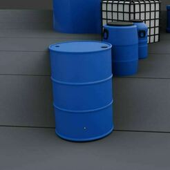c.JPG Download free STL file Barrel 1 - H0 Scale • 3D print template, Pixel3D