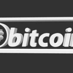 btc.jpg Télécharger fichier STL Logo Bitcoin • Plan pour imprimante 3D, gracielaylla