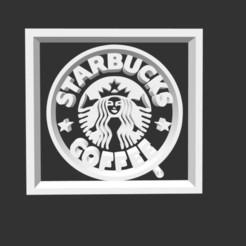 Sin título3.jpg Download STL file Starbucks Logo • Object to 3D print, gracielaylla