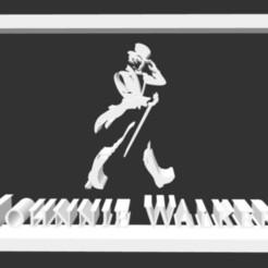 jw.jpg Download STL file johnnie walker logo • 3D print template, gracielaylla