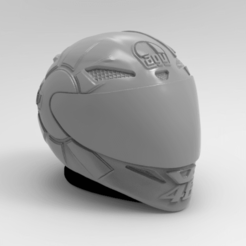 KeyShot 9.3 Demo  - untitled.bip  - 64 bit 25_10_2020 21_50_41.png Download STL file casco gothic Valentino Rossi • 3D printing design, ezequielromero46