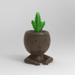 KeyShot 9.3 Demo  - untitled.bip  - 64 bit 28_12_2020 11_26_10.png Télécharger fichier OBJ pot de fleurs de singe soutenu • Objet à imprimer en 3D, ezequielromero46