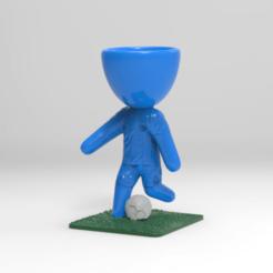 KeyShot 9.3 Demo  - untitled.bip  - 64 bit 04_12_2020 15_58_11.png Download STL file maceta diego maradona 10 • 3D printing design, ezequielromero46
